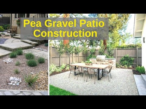 Pea Gravel Patio for $100 in 4 hours. Timelapse