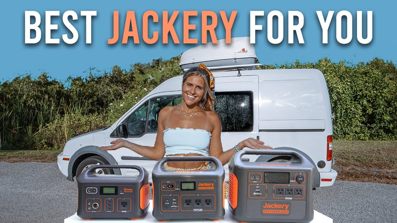 Electricity for Van Life - Jackery Portable Power Station Review
