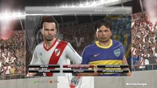 Pes 2014 PC comentarios Argentinos Full - Gameplay River Boca Parte 1