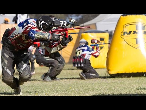 Awesome Pro Paintball Match - Dynasty vs Red Legion and Thunder vs Boom - NXL