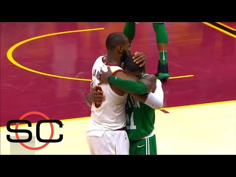 LeBron James and Kyrie Irving reunite for NBA All-Star game   SportsCenter   ESPN