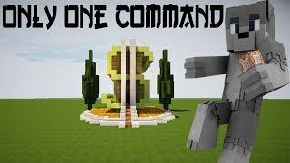 💯Minecraft:Modern Money House in One Command!