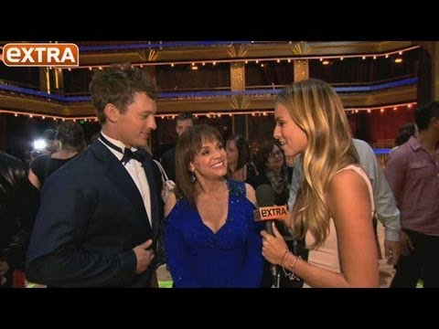 'Extra' Backstage on 'DWTS' Premiere Night!