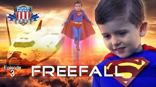 Superman Saves the Shuttle! SuperHeroKids Episode 3 -