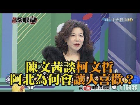 《新聞深喉嚨》精彩片段 陳文茜談柯文哲 阿北為何會讓人喜歡?