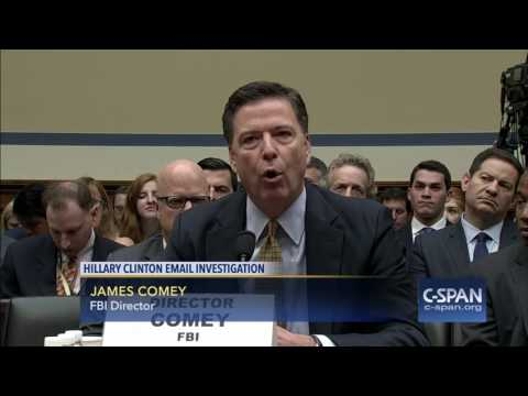 FBI Director James Comey Opening Statement on Hillary Clinton Email Investigation