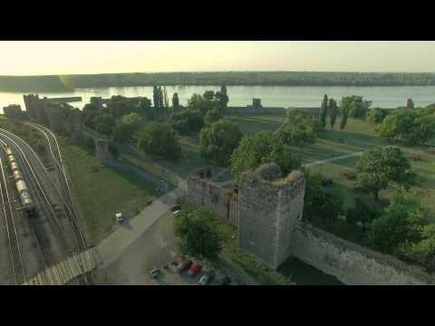Smederevska Tvrđava Iz Vazduha (4k)