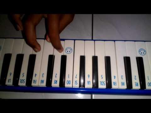 Lagu indonesia raya,dengan menggunakan pianika😆