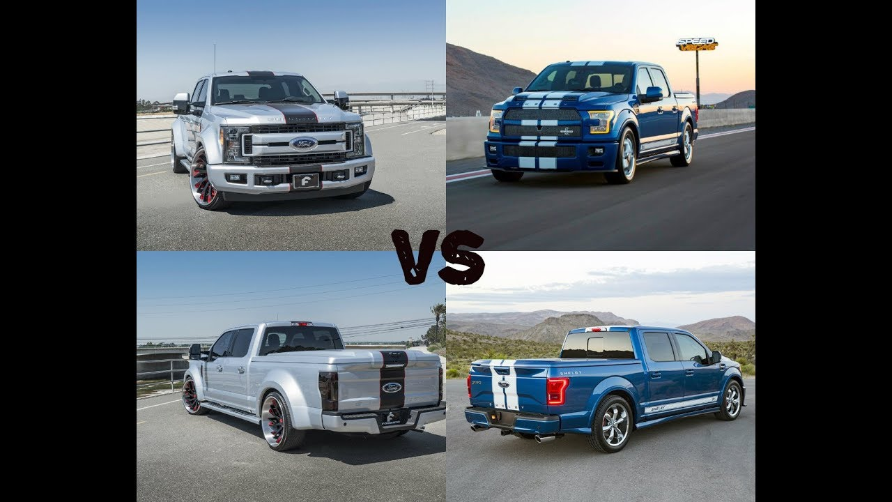 2017 Shelby F 150 Super Snake Packs VS Ford F 250 XLT ...