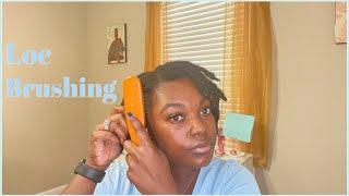 Brushing My Locs...what's The Tea?!? | My Experience | Naomi Onlae