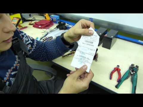 Установка сигнализации Pantera CL 500 на ВАЗ 2104, 2105, 2107 (часть1)