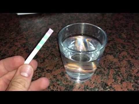 How To Check Your Water Hardness With Test Strip DIY