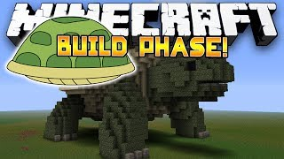 Minecraft Minigame Battle Dome! - THE TURTLE DOME! - (Build Phase) - Part 1/2