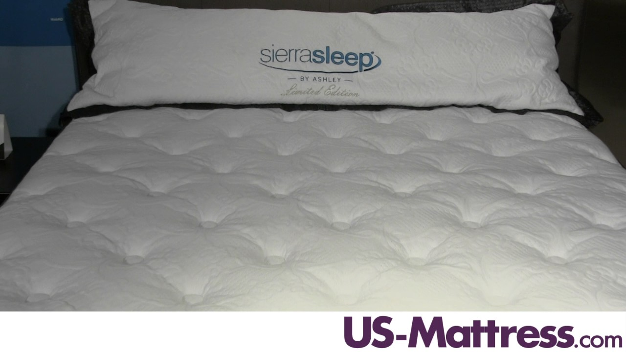 Sierra Sleep by Ashley Limited Edition Pillow Top Mattress