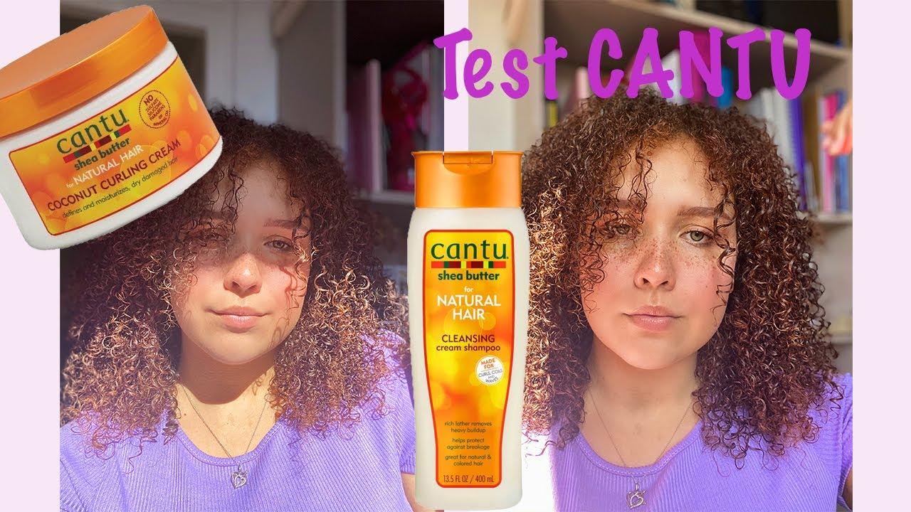 @Camille Ricordel: Test de la marque CANTU / curly hair cantu