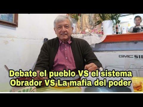 hoy inicia el debate de López Obrador VS Anaya, Meade y Margarita