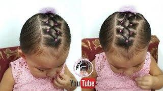 Peinado Para Ninas Con Ligas Cruzadas Peinados Faciles Y Rapidos De