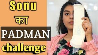 Nidhi Bhanushali, Bhavya gandhi,Pinku Akshay Kumar #Padman challenge - Taarak Mehta ka oolta chashma