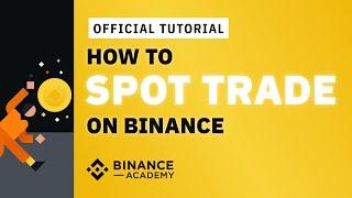 Binance Spot Trading