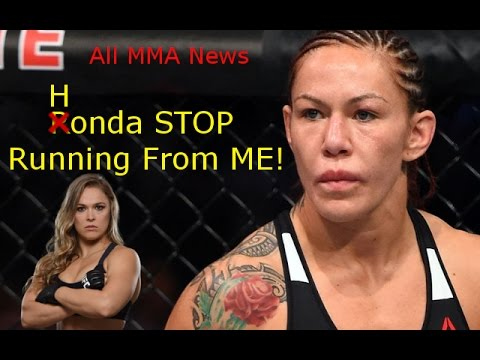 Cris Cyborg: Ronda Stop Running From Me!