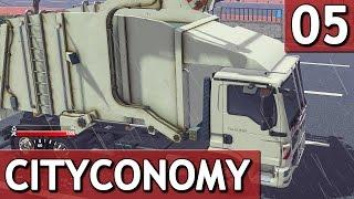 CityConomy #5 PAPIER und PAPPE sammeln Stadt Service Simulator