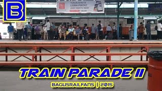 Indonesian Railways Compilation : Train Parade II