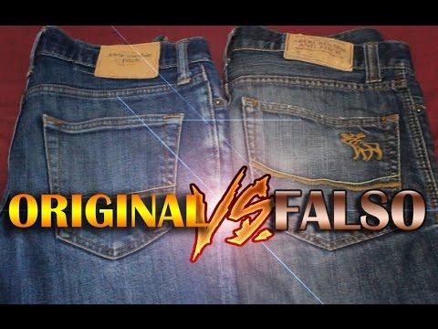fd073b3f25c jeans abercromibe ORIGINAL VS FALSO -VÍCTOR CABALLERO - YouTube