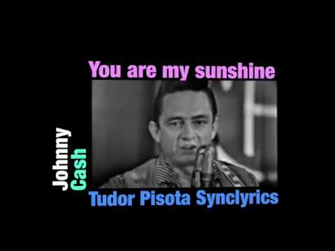 Johnny Cash - You are my sunshine - Karaoke