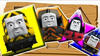 Thomas And Friends Learn Colors And Shapes Finger Family Song Nursery Rhymes Toy Train