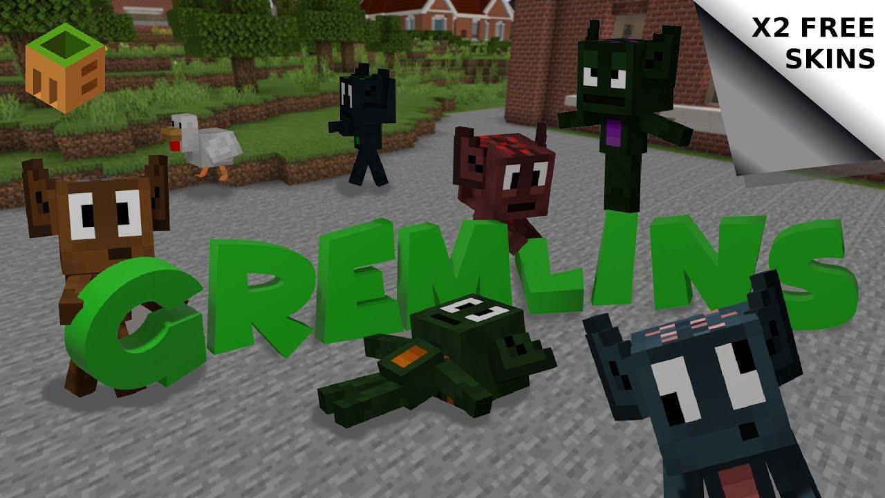 Gremlins Minecraft Marketplace Map Trailer Youtube