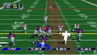 NFL Blitz 2000 - PS1 Gameplay (1080p60fps)