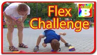 Flex challenge  Super joc pentru copii  Provocarea pentru Bogdan`s Show de la Jasmina Show