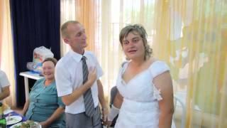 Русская свадьба. Бухая невеста хохмит