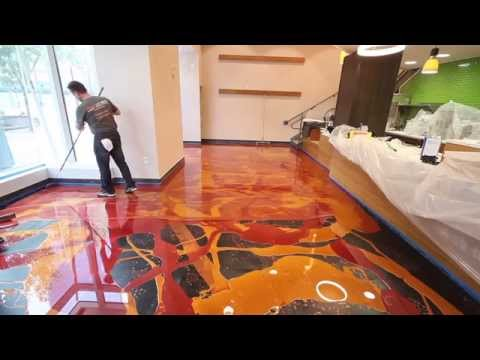 learn-to-install-metallic-epoxy---orange-gold-&-wine-red