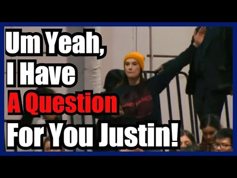 BOOM! Speaking Truth To Power - Justin Trudeau Confronted At Town Hall!