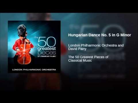 Hungarian Dance No. 5 in G Minor