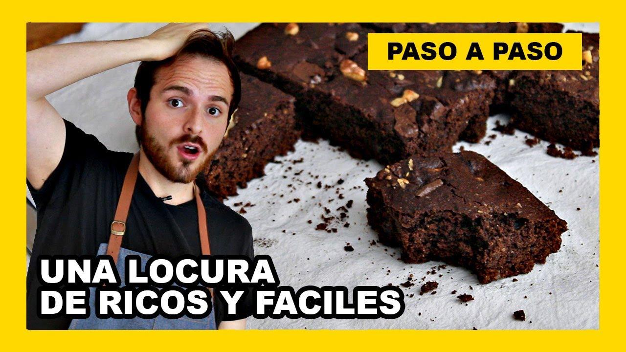 🔶 Como hacer brownie vegano casero (receta saludable)