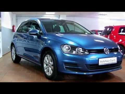 volkswagen golf vii 1 2 tsi trendline dw121876 pacificblue autohaus czychy youtube. Black Bedroom Furniture Sets. Home Design Ideas