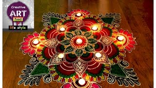 Rangoli for diwali | diwali special | Art with Creativity