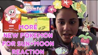 More New Pokemon for Sun+Moon Reaction!