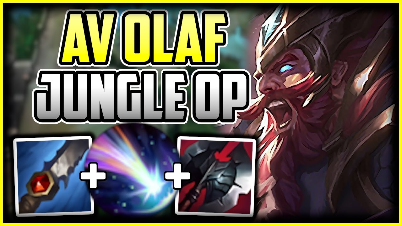 How To Play Olaf Jungle Best Runes Build S Olaf Commentary Guide League Of Legends Youtube