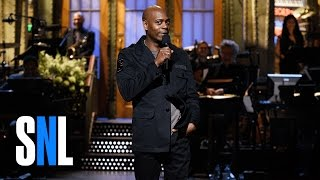 Dave Chappelle Stand-Up Monologue - SNL(Host Dave Chappelle jokes about Donald Trump being elected president and how being rich has changed his life. Get more SNL: ..., 2016-11-13T08:27:24.000Z)