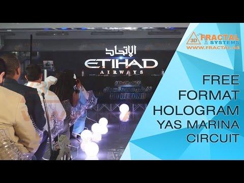 Free format Hologram - Yas Marina Circuit