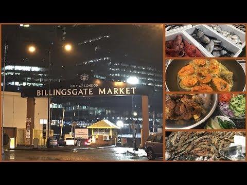 Billingsgate Fish Market In London 2020 | Mas Bhaja / Masala Fried Fish RECIPE