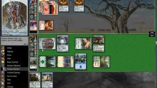 Magic The Gathering Birthing Pod Deck - Value Bant Pod Vs Red Deck Wins