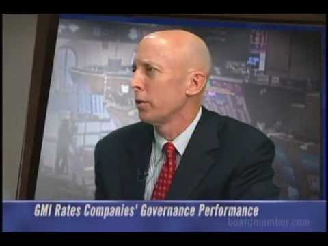 Rating Companies' Governance Performance