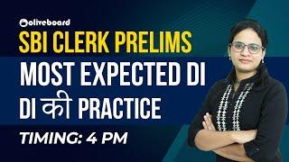 SBI CLERK PRELIMS | Most expected DI  |  DI की practice | Priyanka Ma'am