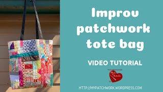 Improv patchwork tote bag vide…