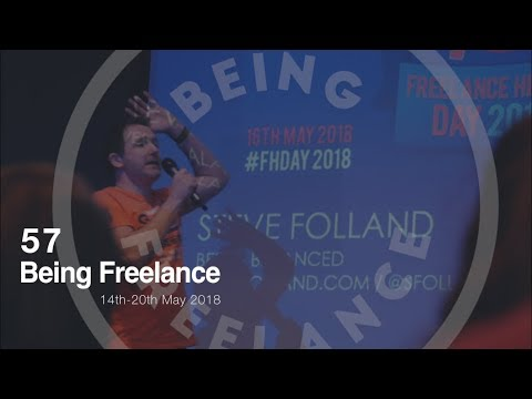 Speaking at Freelance Heroes Day - 57 Being Freelance Weekly Vlog