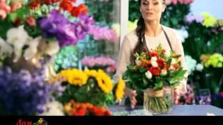 Доставка цветов и букетов в Белгороде(Магазин Дом цветов - доставка стильных цветов и букетов по Белгороду и области!, 2015-10-20T14:04:26.000Z)